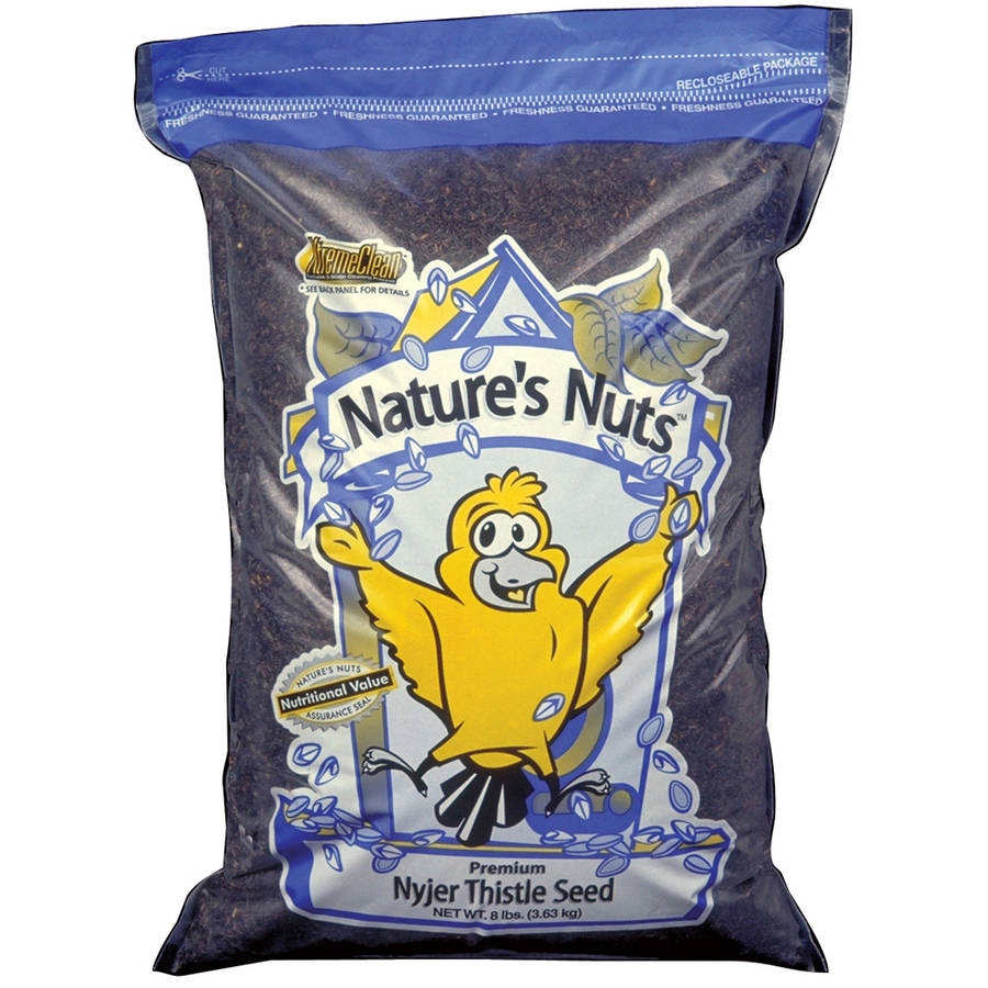 Natures Nuts 00058 25 Lbs Premium Nyger Thistle Seed