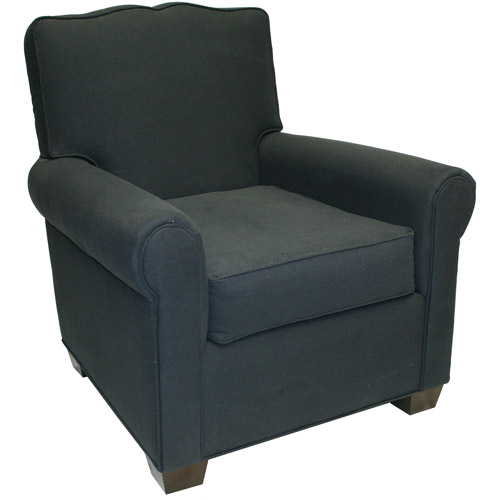 Bradford Moustache Back Roll Arm Chair,
