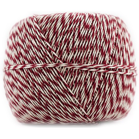 JAM Paper Twine, Red & White Baker's Twine, 500 Yards, Sold Individually](Baker's Twine)