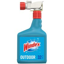 Glass Cleaner: Windex Outdoor Cleaner