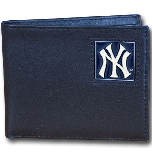 MLB New York Yankees Leather Bi-fold Wallet