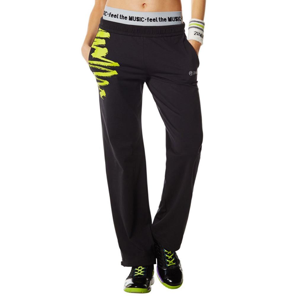 Zumba Fitness Gotta Jam Jersey Pants Black-XS by