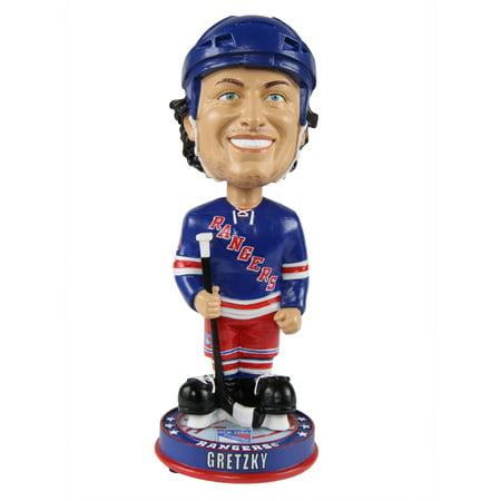 Wayne Gretzky New York Rangers Knucklehead Big Head Bobblehead NHL