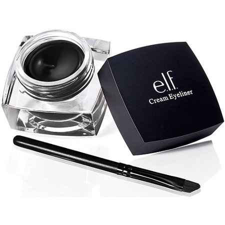 E L F  Cosmetics Cream Eyeliner  Black  0 17 Oz