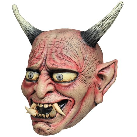Ghoulish Oni Demon Mask Costume, Devil Halloween mask By Ghoulish Productions Ship from US (Halloween Ghoulish Appetizers)