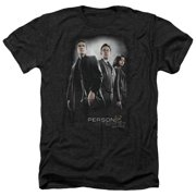 Person Of Interest Cast Mens Heather Shirt