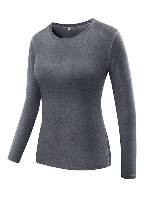 Nicesee Women Compression Long Sleeve Yoga Tops
