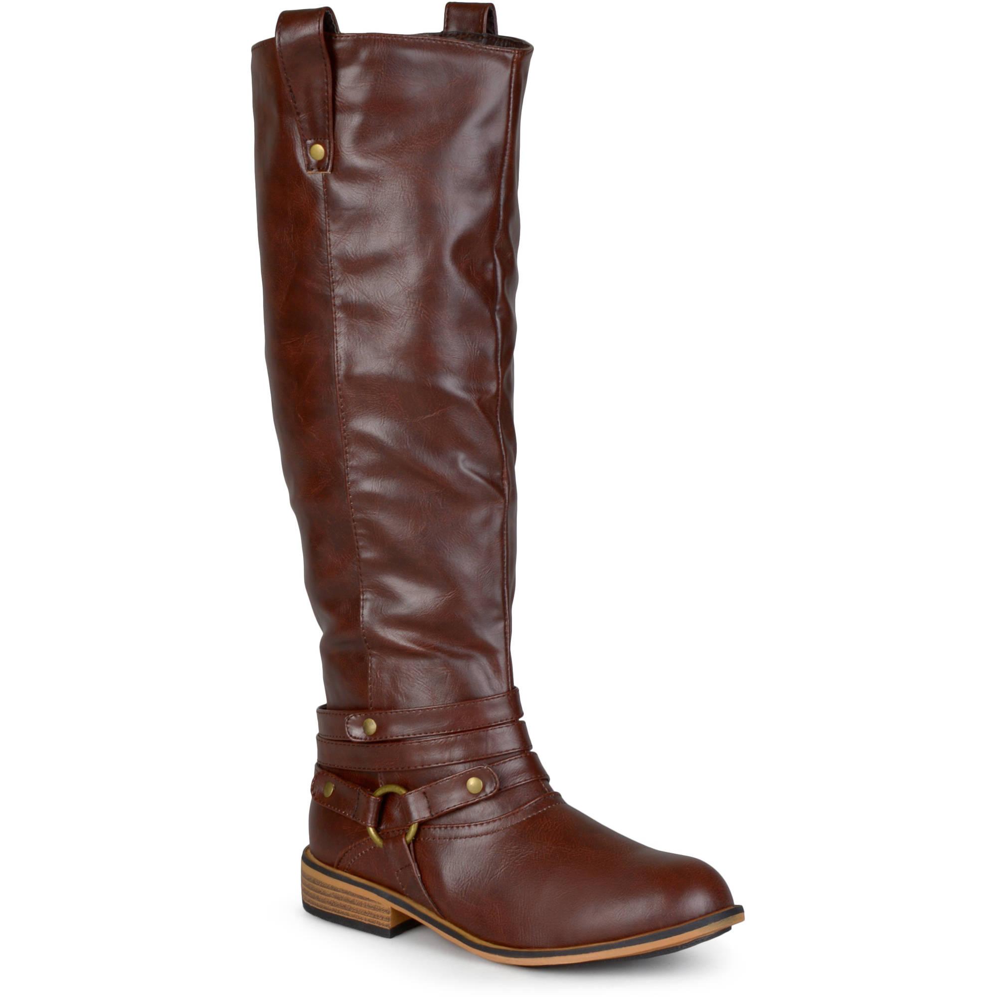 Brinley Co. Women's Mid-calf Riding Boots - Walmart.com