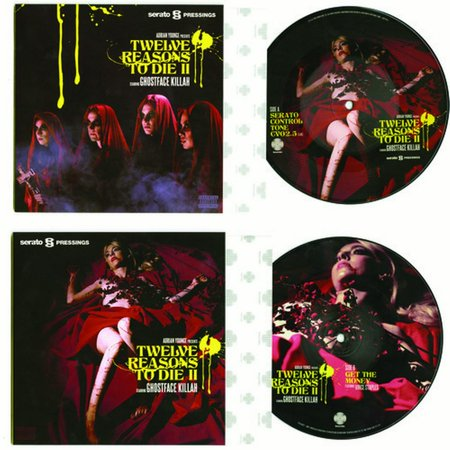 Ghostface Killah - 12 Reasons to Die II Serato - Vinyl (7-Inch) Serato Scratch Vinyl