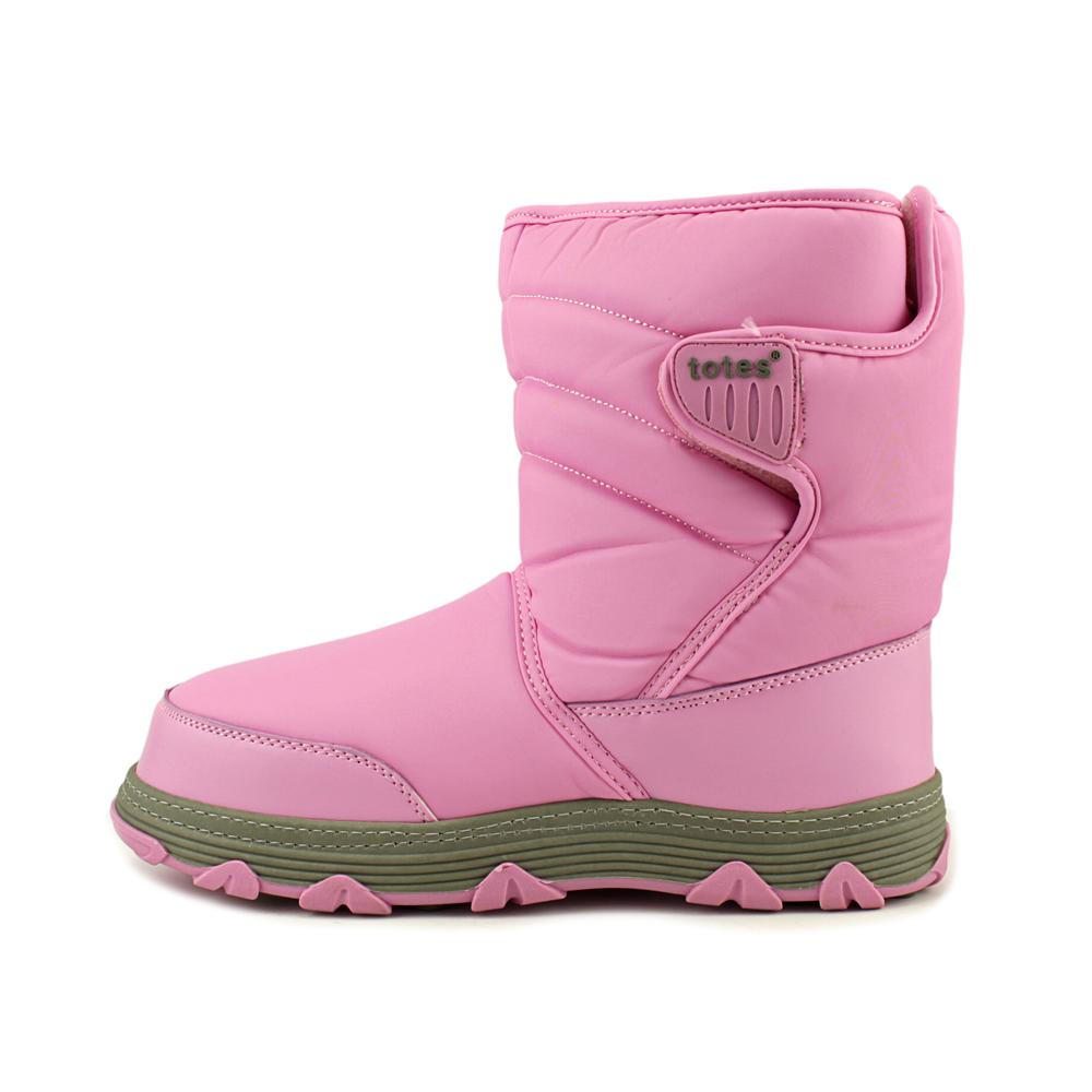 Totes Vana Toddler  Round Toe Synthetic Pink Winter Boot
