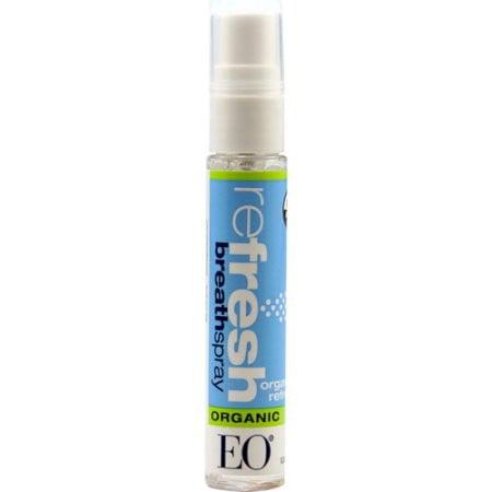 EO Refresh Organic Breath Spray, 0.33 Oz