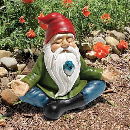 design toscano zen garden gnome statue. Black Bedroom Furniture Sets. Home Design Ideas