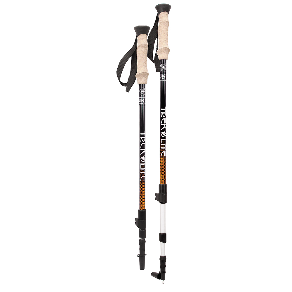 YUKON CHARLIE'S TREK LITE HIKING POLE - ORANGE