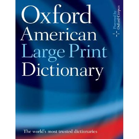 Oxford American Large Print -