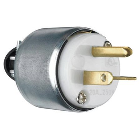 PS620PACC20 Armored Plug, 20A, 250V, White - image 1 of 1