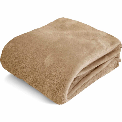 Mainstays Microplush Throw, Multiple Colors