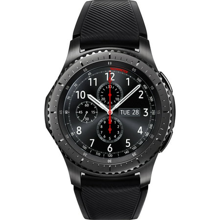 SAMSUNG Gear S3 Frontier Smart Watch Black - SM-R760NDAAXAR