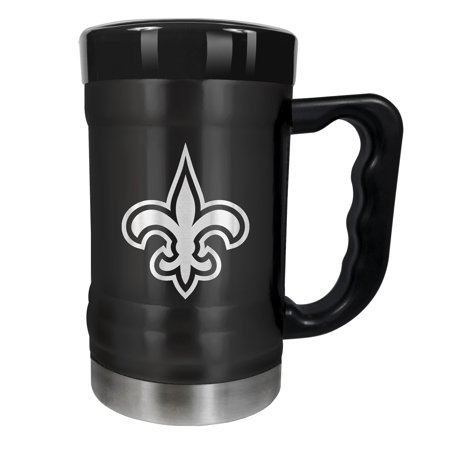 New Orleans Saints 15oz. Stealth Coach Coffee Mug - Black - No Size