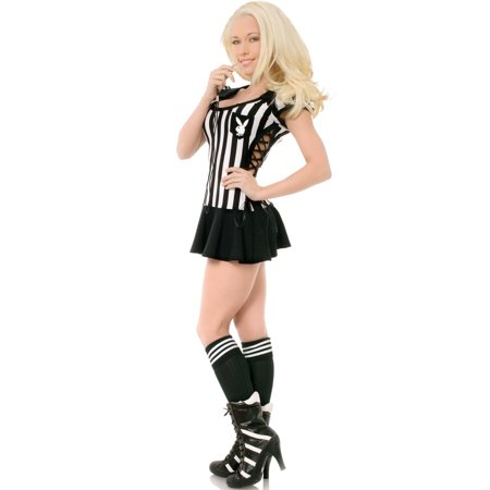 Playboy Racy Referee Costume (Playboy Bunny Costumes)