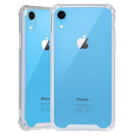 iPhone XR Case Clear, Beyond Cell [Aquaflex] Transparent Flexible TPU [Shock Absorbing] Bumper Cover for Apple iPhone XR (2018) (Size 6.1