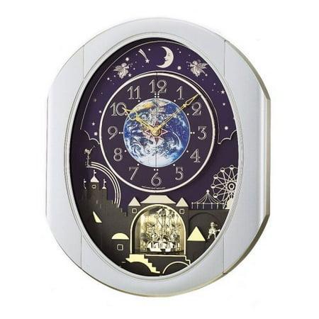 Peaceful Cosmos Entertainer - Rhythm Clocks 2009 (Rhythm Lace)