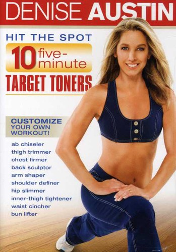 Denise Austin: Hit The Spot 10 Five Minute Target Toners (DVD) by LIONS GATE