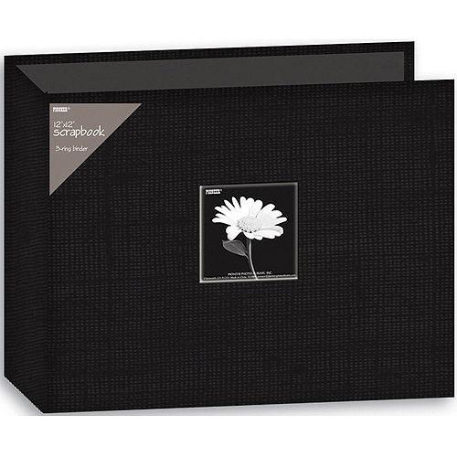 "Fabric 3-Ring Binder Album With Window, 12"" x 12"""