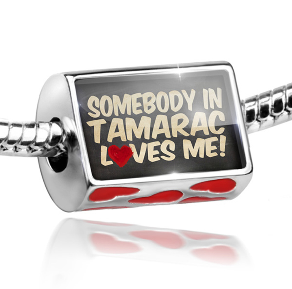 Bead Somebody in Tamarac Loves me, Florida Charm Fits All European Bracelets