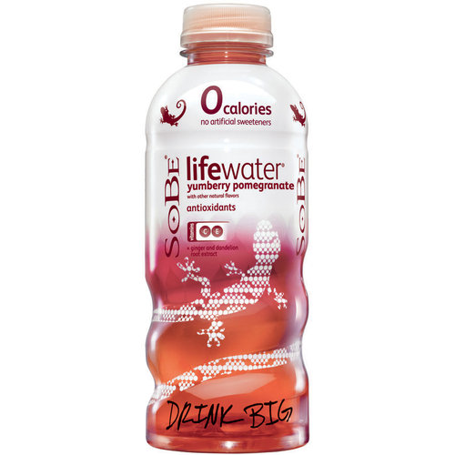 Sobe Lifewater Yumberry Pomegranate Water Beverage, 20 oz
