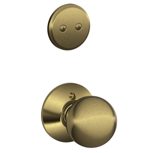 Schlage F94-ORB Orbit Dummy Interior Pack with Deadbolt Cover Plate