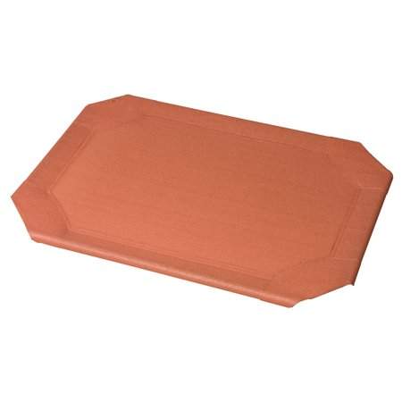 The Original Coolaroo Elevated Pet Dog Bed Replacement Cover, Large, Terracotta