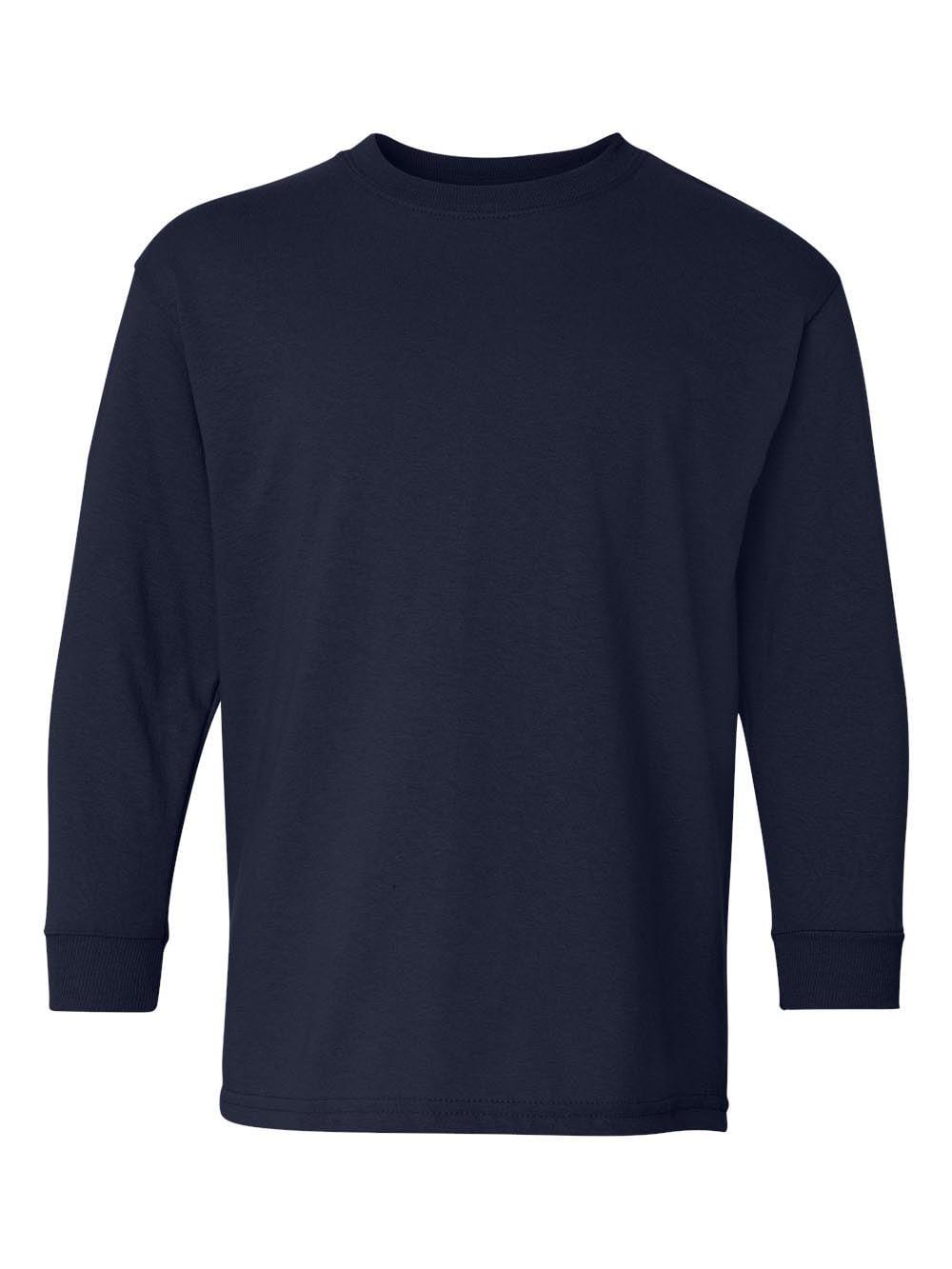 Gildan - Heavy Cotton Youth Long Sleeve T-Shirt - 5400B