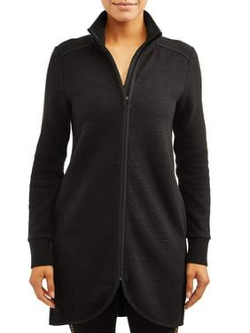 Women's Athleisure Ottoman Tunic Jacket