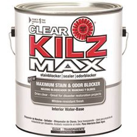 Kilz Max Clear Water Based Primer Interior Exterior 1 Gallon