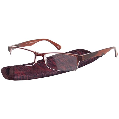 Foster Grant Women's Plastic Reading Glasses, Perry Brown
