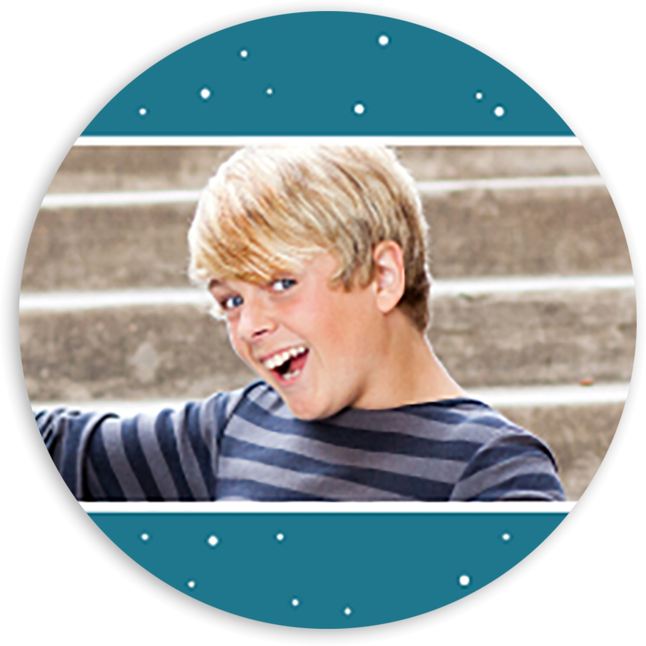 Space Hero - Personalized 1.75 Circle Seal Sticker