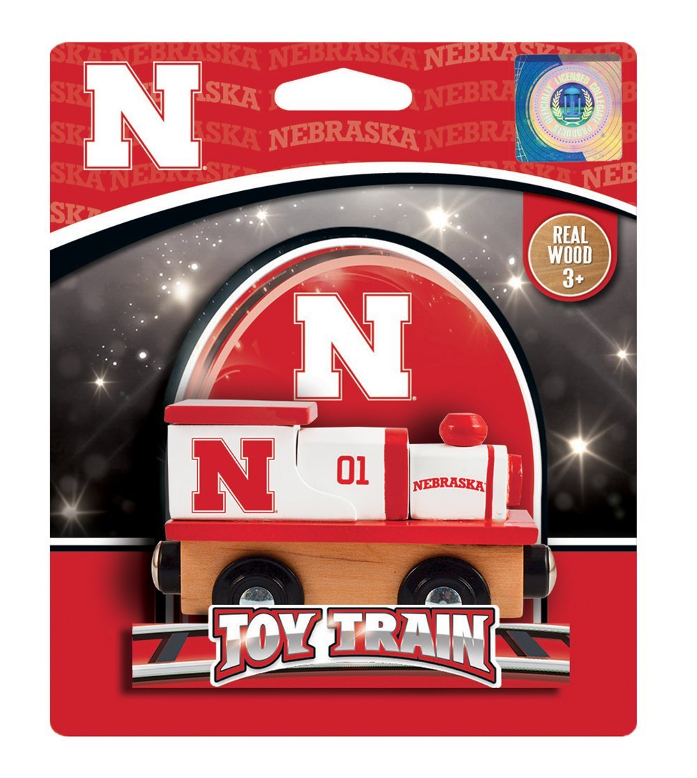 MasterPieces NCAA Nebraska Sports Toy Train