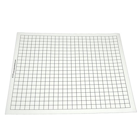 Double Sided Gaming Mat - Squares Only New Condition! Double Acid Free Mat