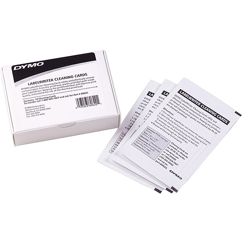 Dymo 10-Pack LabelWriter Cleaning Cards