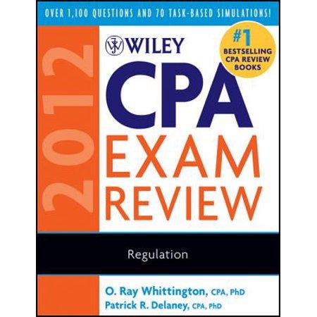 Wiley CPA Exam Review 2012, Regulation - eBook - Walmart com