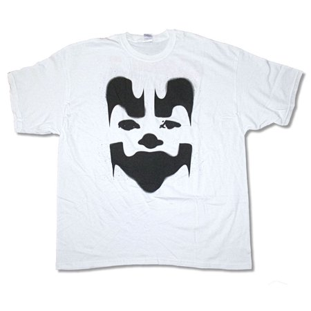 Insane Clown Posse Big Face Shaggy White T Shirt ICP