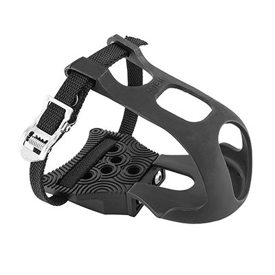 PEDAL CLIPLESS ADAPTER EXUSTAR w/TOE CLIPS & STRAPS CLEATS SOLD (Best Non Clipless Pedals)