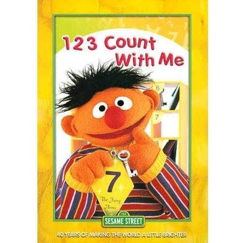 Sesame Street: 1 2 3 Count With Me by Sesame Street