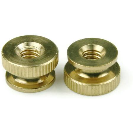 Brass Regulator Nut (Brass Knurled Thumb Nuts - #2-56 QTY 100)