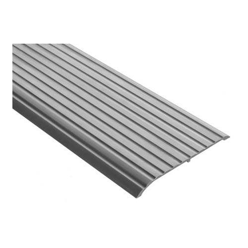 653-72 Threshold, Fluted Top, 6 ft., Aluminum Mill