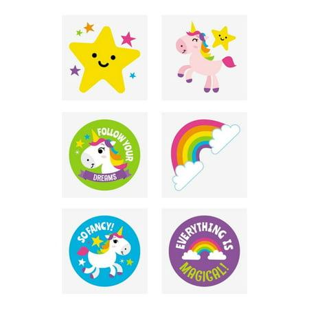 Rainbow Unicorn Tattoos](Rainbow Baby Tattoos)