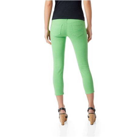 Aeropostale Juniors Colorful Cropped Jeggings 593 5/6X24 - Juniors - image 2 of 3