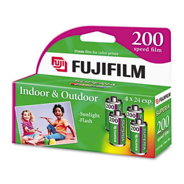 Fujifilm Superia 35mm Color Print Film (4 Pack)