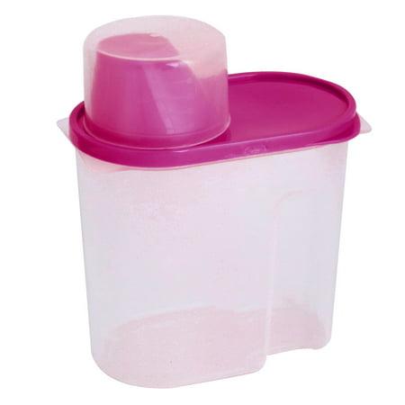 Outil ménagers soja Alimentaire Riz plastque Fuchsia Bo te Clair 1.9 L - image 1 de 1