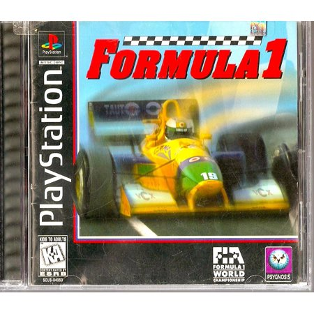 Schumacher Racing - Formula 1, Formula 1 is the first racing game in Sony's Formula One series. By Playstation